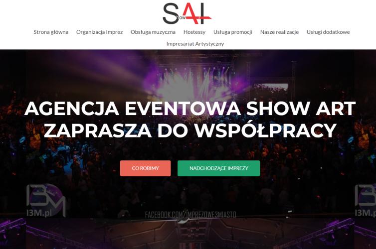 Strona Agencji Eventowej