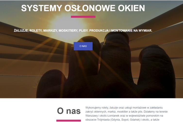 Systemy Osłonowe Okien